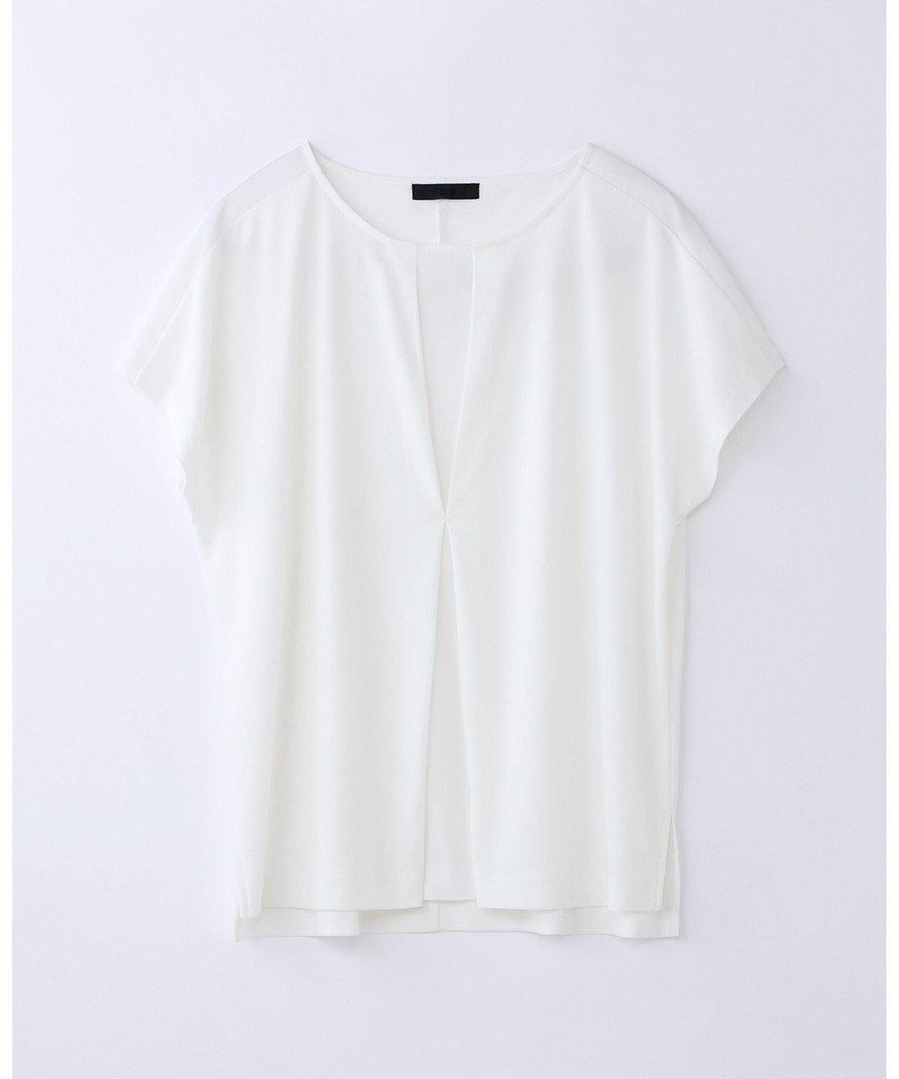 ICB L Triacetate Dry Smooth 半袖カットソー ホワイト系