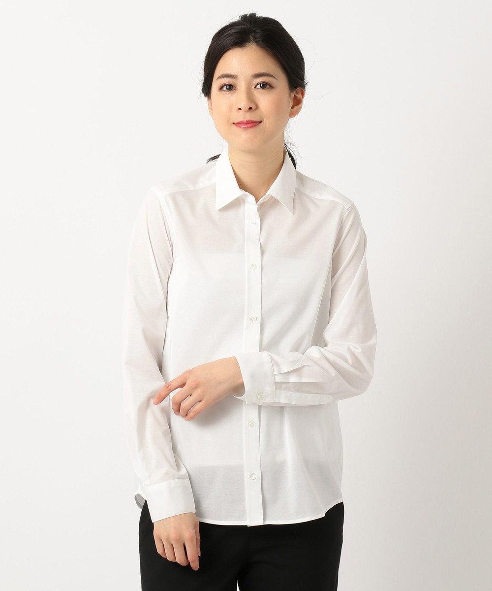 ICB L 【洗える】Royal Cool シャツ ホワイト系