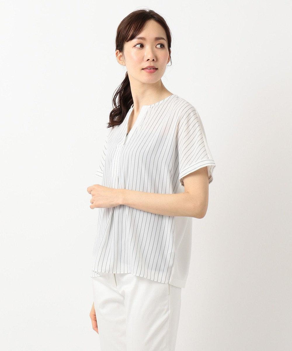 ICB Fabric Combi Jersey 半袖カットソー ホワイトボーダー系