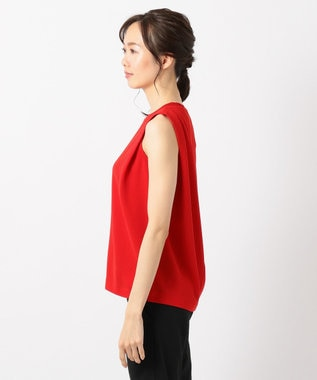 ICB L Knit Combi Jersey カットソー レッド系