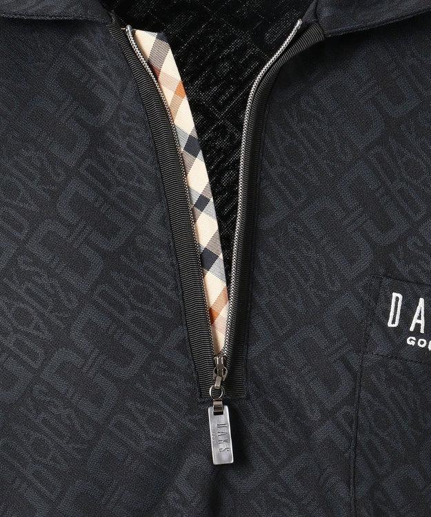 DAKS GOLF 【MEN】DAKSバイアスロゴ 長袖ポロシャツ
