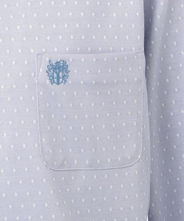 DAKS GOLF 【MEN】ダイヤ小紋モクロディー ポロシャツ