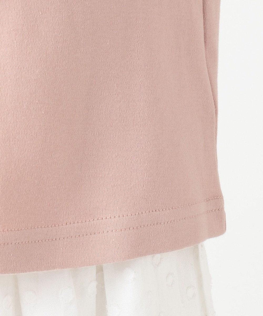 any FAM KIDS 【90-130cm】ビーズ入り風船モチーフ 長袖Tシャツ ピンク系