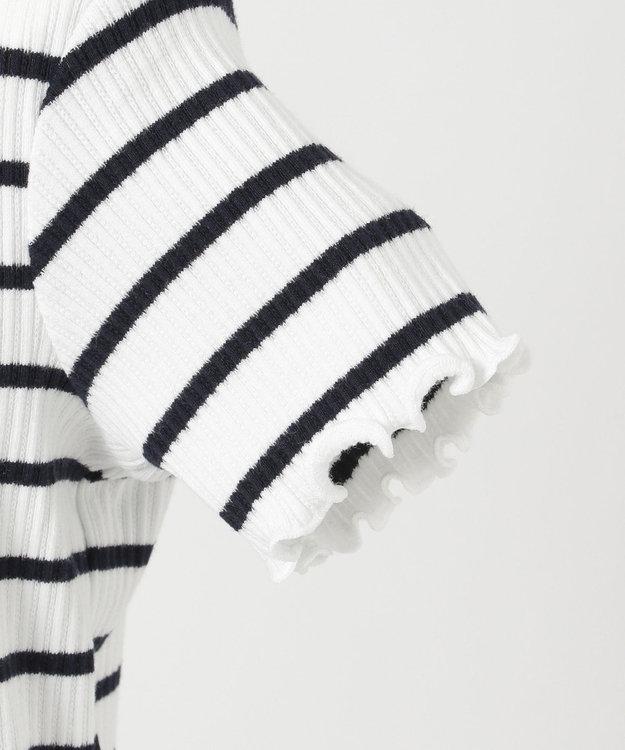 any FAM KIDS ニコプチ4月号掲載【90-130cm】リボンモチーフ 半袖Tシャツ