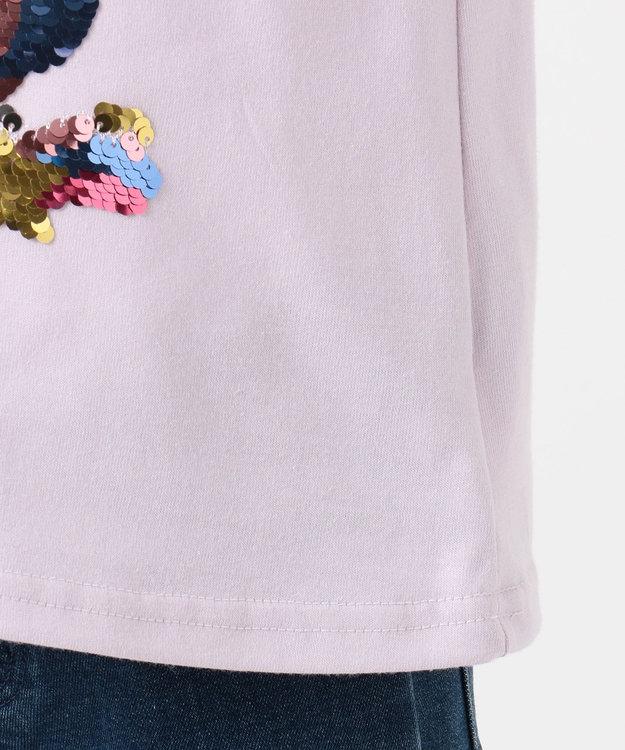 any FAM KIDS 【100-130cm】ミラクルスパンコール 7分袖Tシャツ