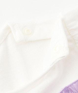any FAM KIDS 【baby/70-80cm】フルーツ刺繍 セットアップ ライラック系