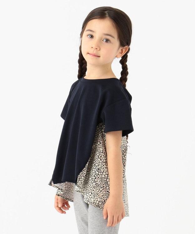 any FAM KIDS 【親子でお揃い/90-130cm】LIBERTY プリントフレアTシャツ