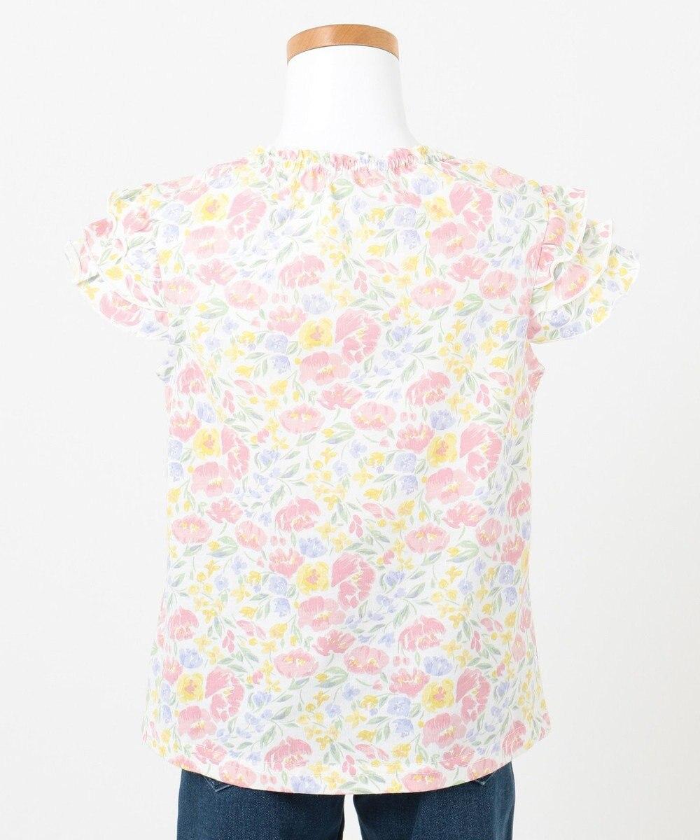 any FAM KIDS 【80‐130cm】花柄プリントTシャツ ピンク系5