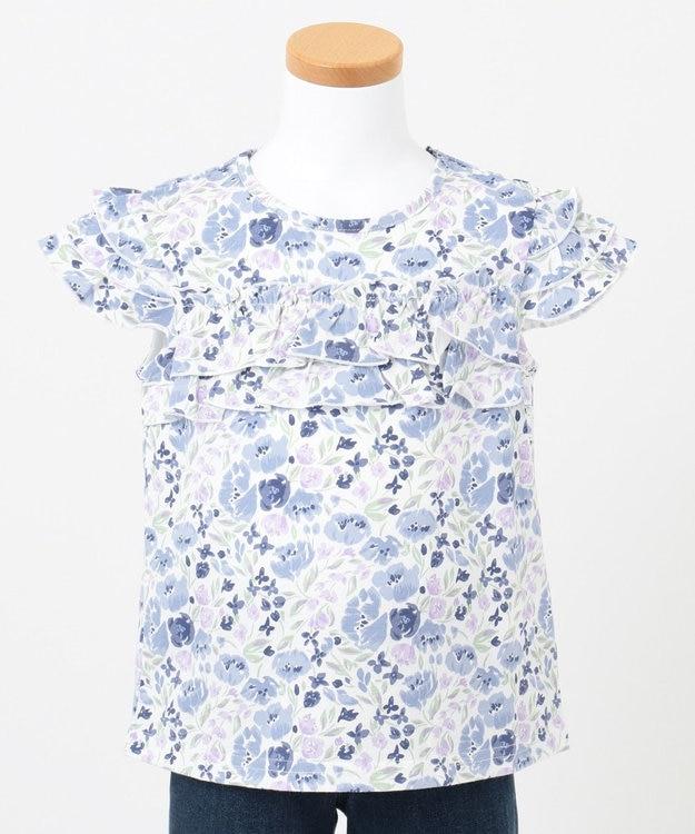 any FAM KIDS 【80‐130cm】花柄プリントTシャツ