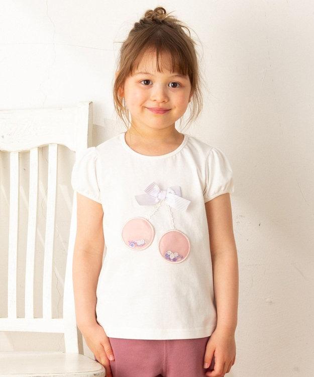 any FAM KIDS 【100‐130cm】チェリーモチーフ 半袖Tシャツ