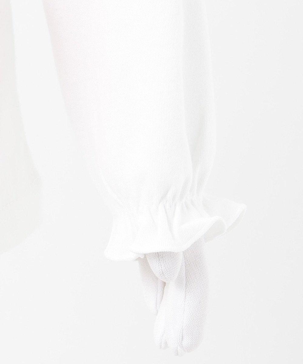 any FAM KIDS 【80-130cm】チェリーポシェットカットソー ホワイト系
