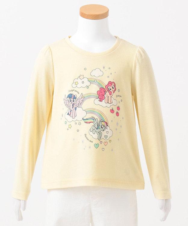 any FAM KIDS 【80-130cm】マイリトルポニー レインボー Tシャツ