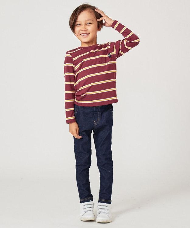 any FAM KIDS 【BOYS/90~130cm】ボーダーカットソー