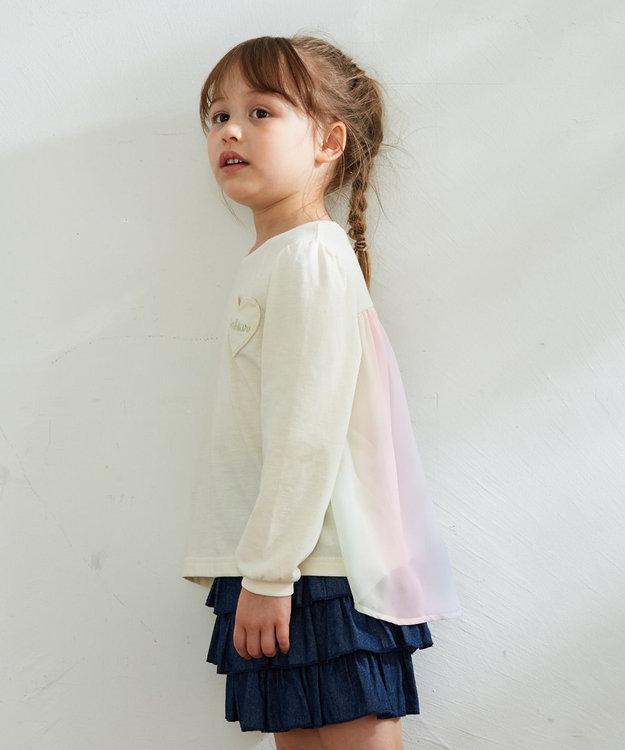 any FAM KIDS 【140-150cm】前後差有り AラインTシャツ
