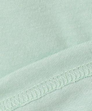 any FAM KIDS 【140-150cm】ミラクルスパンコール 半袖Tシャツ ライトグリーン系