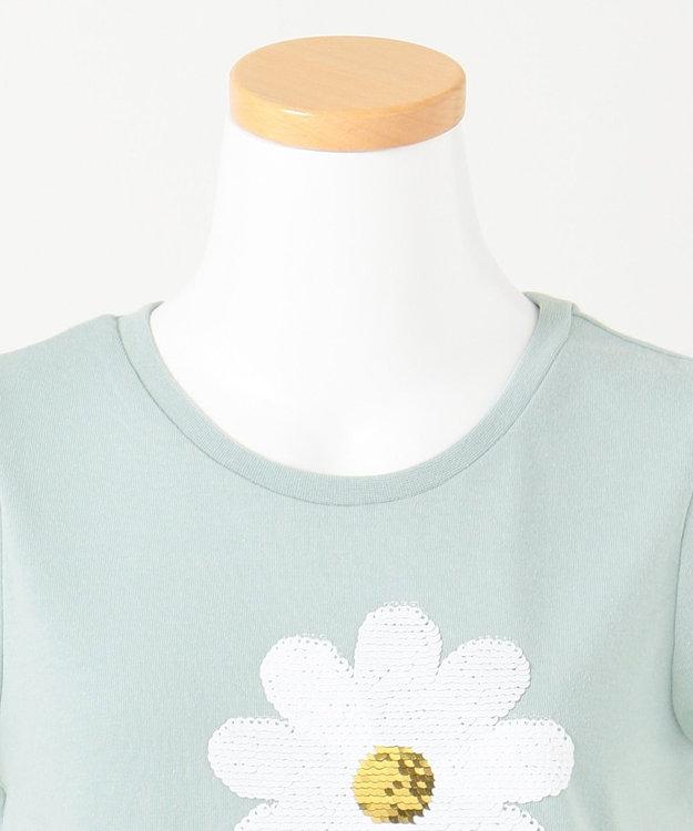 any FAM KIDS 【140-150cm】ミラクルスパンコール 半袖Tシャツ