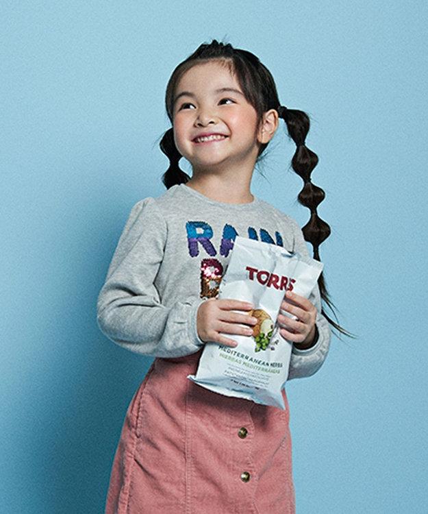 any FAM KIDS 【140-150cm】ミラクルスパンコール スムース Tシャツ