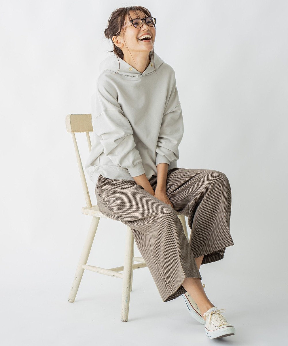 any FAM 【オーガニックコットン】オーガビッツ裏毛 パーカー ブラウン系