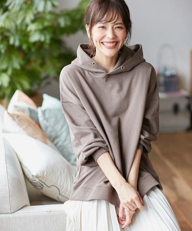 any FAM 【オーガニックコットン】オーガビッツ裏毛 パーカー