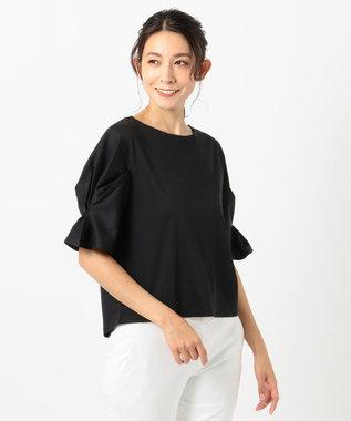 any FAM L 【大人気のため新色追加!】シルケットスムース カットソーII ブラック系