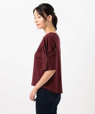 any FAM L 【大人気のため新色追加!】シルケットスムース カットソーII レッド系
