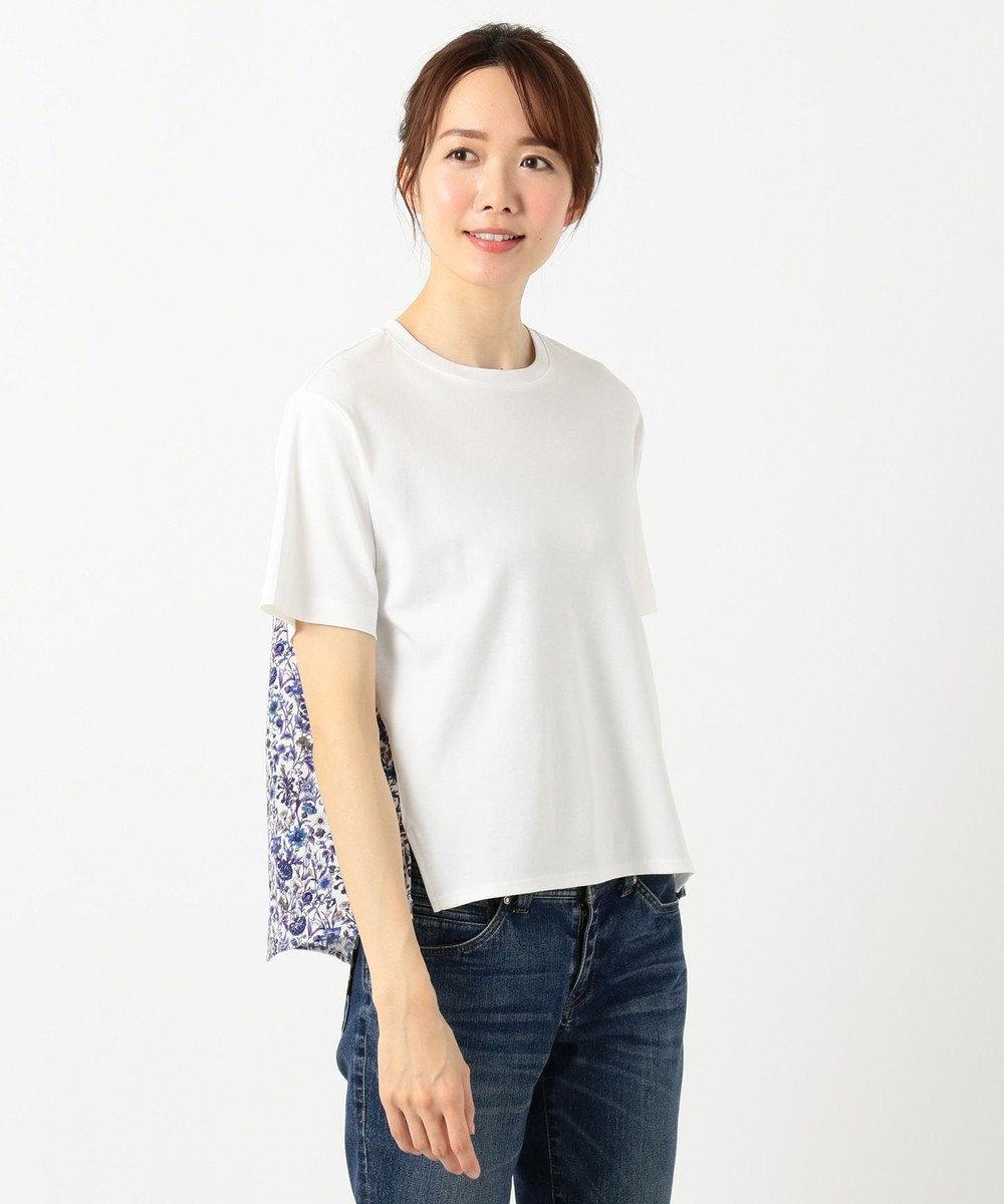 any FAM 【親子でお揃い】リバティプリントフレア Tシャツ ネイビー系5