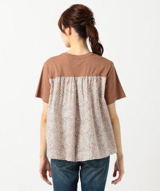 any FAM 【親子でお揃い】リバティプリントフレア Tシャツ ブラウン系3