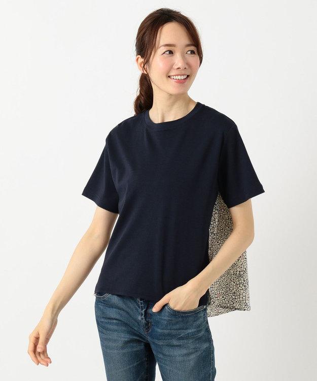 any FAM 【親子でお揃い】リバティプリントフレア Tシャツ