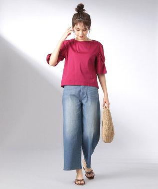 any FAM 【大人気のため追加生産決定!】シルケットスムース カットソー ピンク系
