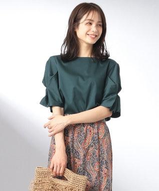 any FAM 【大人気のため追加生産決定!】シルケットスムース カットソー グリーン系