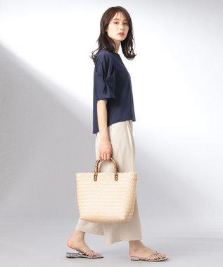 any FAM 【大人気のため追加生産決定!】シルケットスムース カットソー ネイビー系