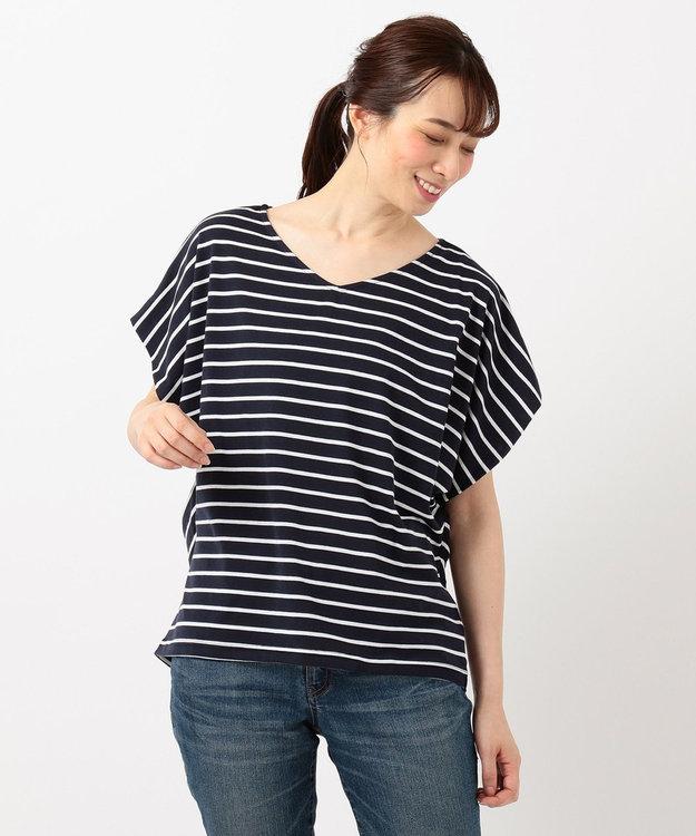 any FAM 【大ヒット商品】【UVケア・接触冷感】Tブラウス Tシャツ