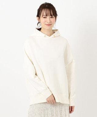 any FAM L 裏起毛 パーカー ホワイト系