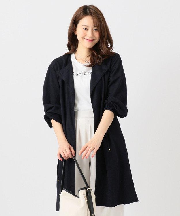 any FAM L 【洗える】ドロストピケ カーディガン
