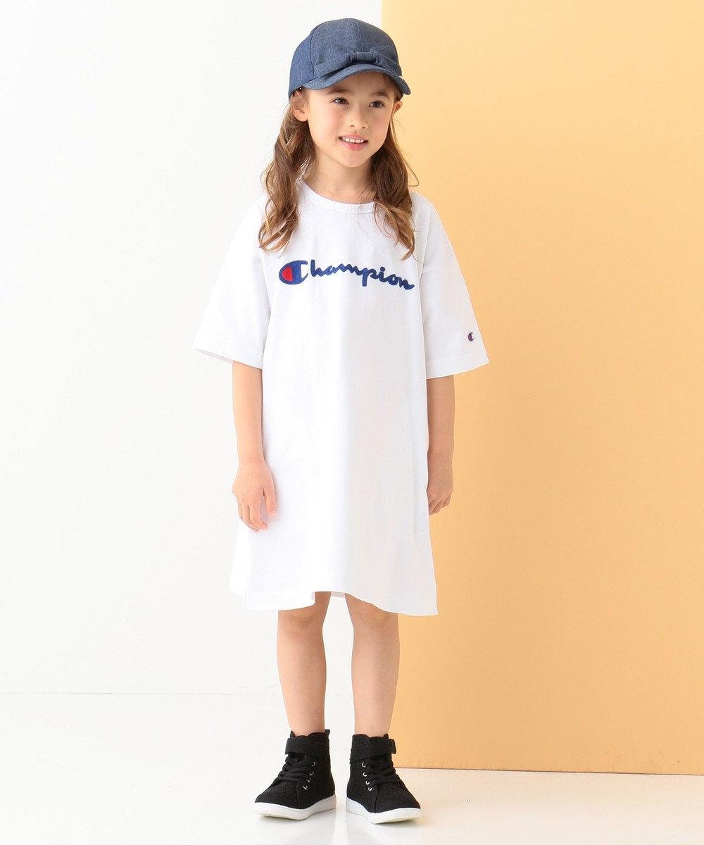 any FAM KIDS 【KIDS】Champion ワンピース ホワイト系
