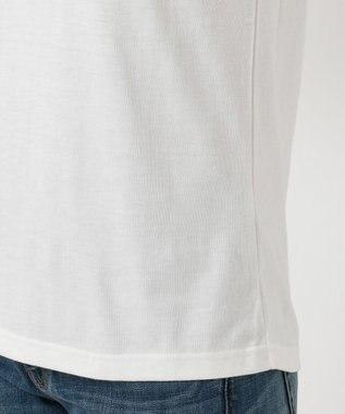 any FAM 【洗える】チビロゴ Tシャツ ホワイト系