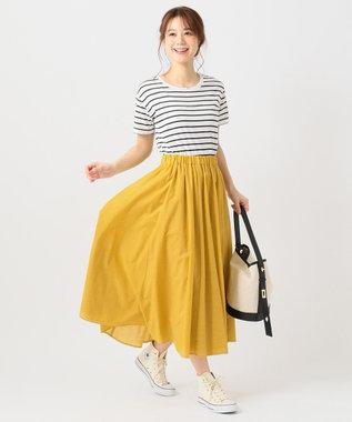 any FAM 【洗える】チビロゴ Tシャツ ブラック系1