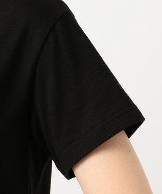 any FAM 【洗える】チビロゴ Tシャツ ブラック系
