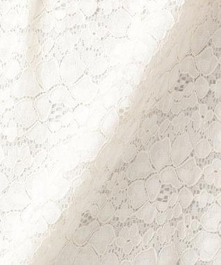 any FAM 【セレモニー】2WAYレース/シフォン ブラウス アイボリー系
