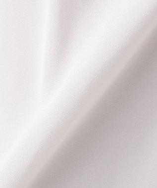 any FAM L 【セレモニー・通勤】フロントネックレス ブラウス ライトグレー系