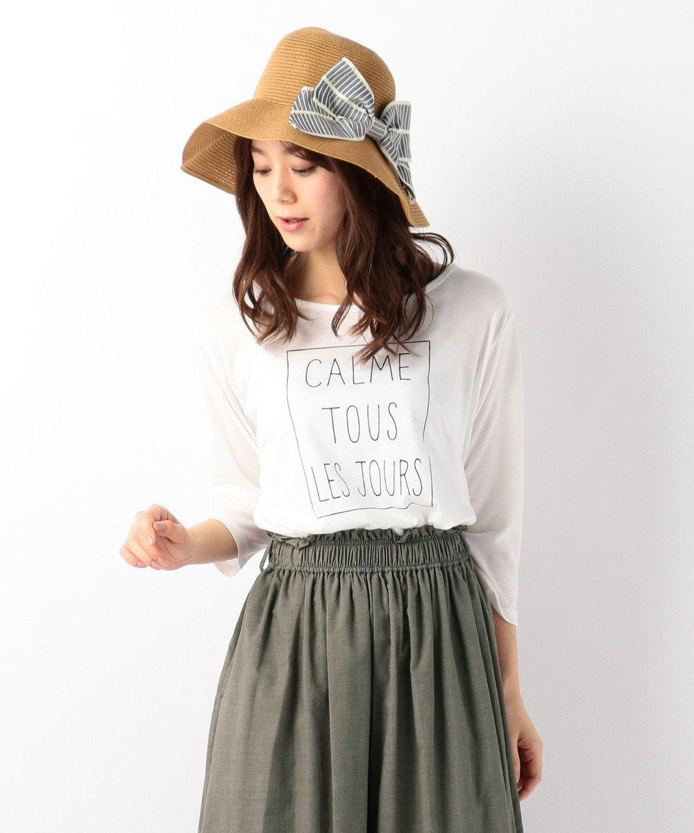 any FAM 【親子リンク】レタード Tシャツ ホワイト系