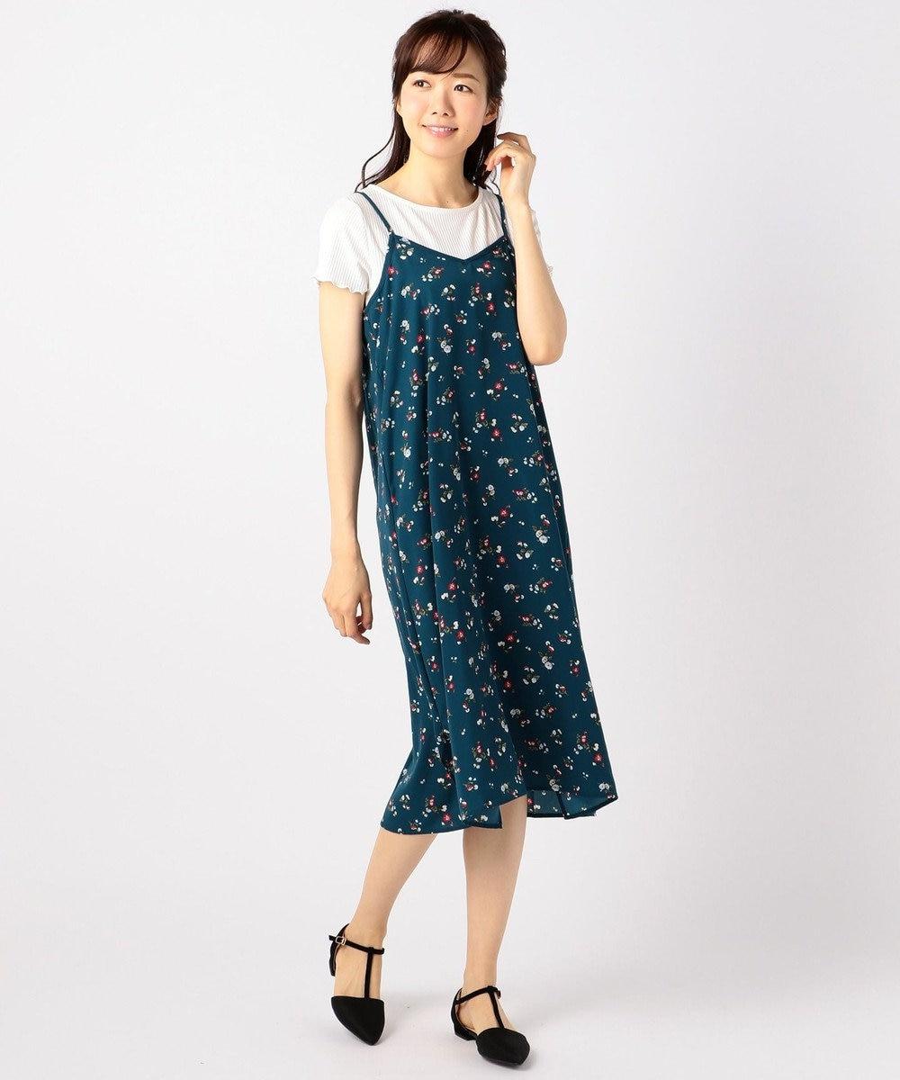 any FAM 【2SET】テレコトップス×キャミ ワンピース ブルー系5