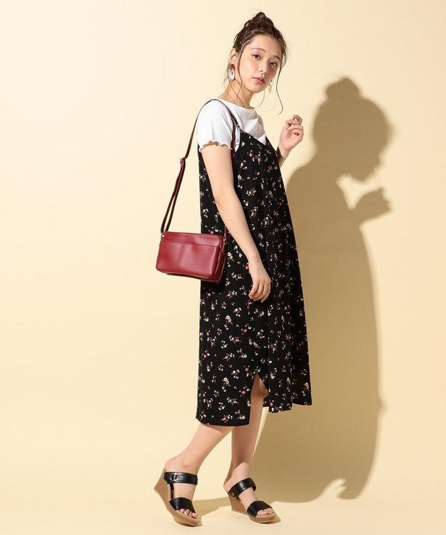 any FAM 【2SET】テレコトップス×キャミ ワンピース