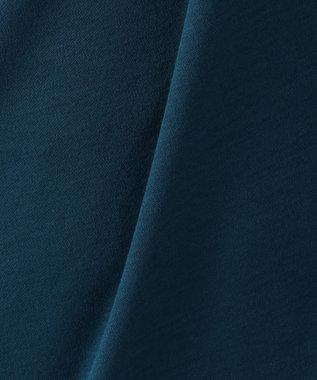 any FAM シルケットスムース ノースリーブ ワンピース ブルー系