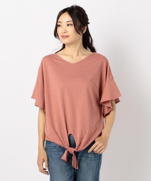 any FAM 【WEB限定】フリルスリーブ Tシャツ