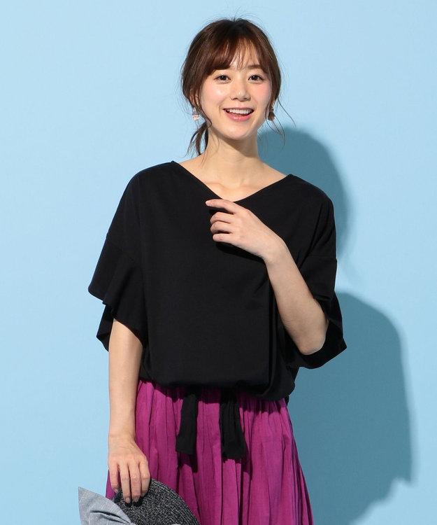 any FAM L ★【2018夏のWEB限定】フリルスリーブ Tシャツ