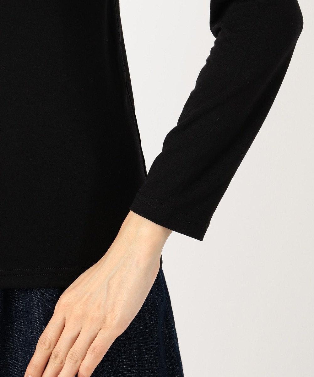any FAM 【吸湿発熱】タートルネック インナー ブラック系