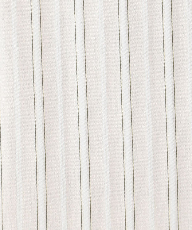 J.PRESS LADIES S 【洗える】スビンギザストライプジャージー 5分袖カットソー