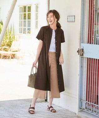 J.PRESS LADIES 【日本製】コットンリブフレンチ Tシャツ ホワイト系