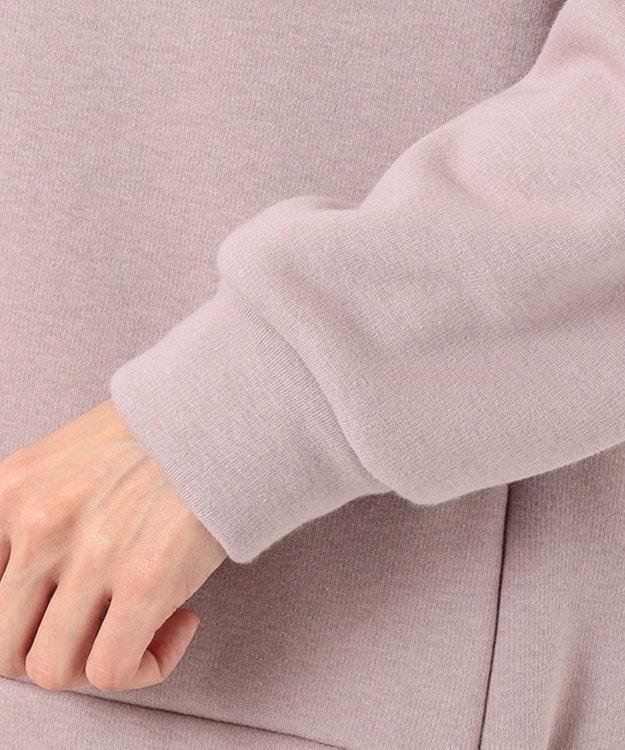 J.PRESS LADIES 【WEB限定】洗えるウルトラブラッシュ パーカープルオーバー